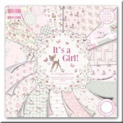 Colección 20x20 cm first edition It's a Girl