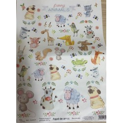 Papel de arroz Animales