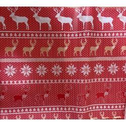 Papel décopatch renos navidad
