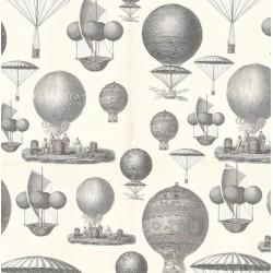 Papel de cartonaje globos antiguos