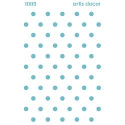 Plantilla de Stencil topos 1CM