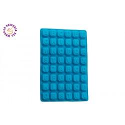 Molde de silicona abecedario