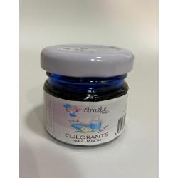 Colorante azul para jabón