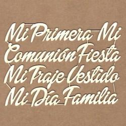 """Letrero """"Mensajes comunión"""""""