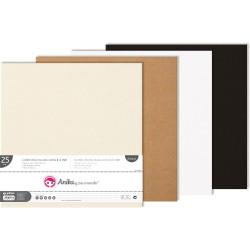 Cartón Ligero Negro 1.5 mm