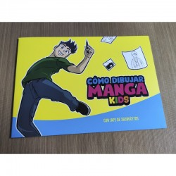 "Librito paso a paso ""Como dibujar manga kids"""
