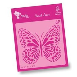 Plantilla Stencil mariposa