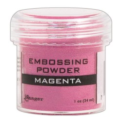 "Embossing powder ""Magenta"""
