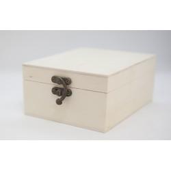 caja cuadrada lisa