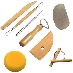 Herramientas de modelado para alfarería y cerámica
