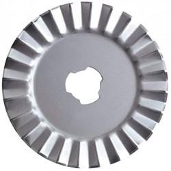 Cuchilla de Recambio de Titanio para cortador giratorio pinking