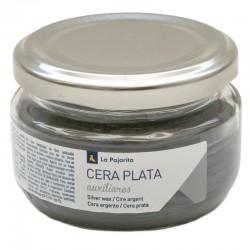 Cera Metalizada Plata, 100 ml