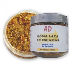 Goma Laca en Escamas, 35 gr