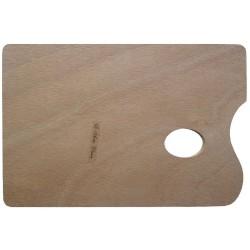 Paleta de madera sin barnizar, 20x30 cm