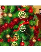 Materiales para realizar manualidades, adorno navideño y de regalos.